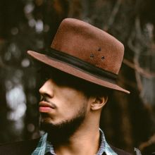 NY Threads Cocoa Fedora