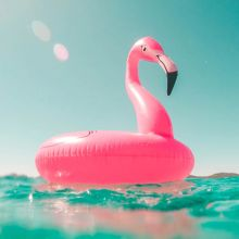 Gigantic Inflatable Flamingo
