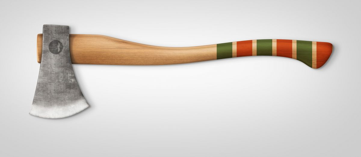 Red/Green handle finish